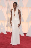 Lupita Nyong'o,Lupita  Nyong'o Photos - 22 February 2015 - Hollywood California - Lupita Nyongo 87th Annual Academy Awards presented by the Academy of Motion Picture Arts and Sciences held at the Dolby Theatre Photo Credit AdMedia