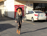 Photo - Nadeea Volianovathe Russian Pop Star is spotted wearing a see-thru outfit to a convenience store Calabasas CA 02-21-17