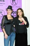 Nia Vardalos,Kathy Najimy,THE ROCK Photo - Rock For Choice
