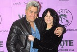 THE ROCK,Jay Leno,Mavis Leno Photo - Rock For Choice