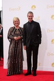 Jayne Atkinson Photo - LOS ANGELES - AUG 25  Jayne Atkinson Michel Gill at the 2014 Primetime Emmy Awards - Arrivals at Nokia at LA Live on August 25 2014 in Los Angeles CA