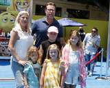 Photo - LOS ANGELES - JUL 23  Tori Spelling Dean McDermott Children at The Emoji Movie Premiere at the Village Theater on July 23 2017 in Westwood CA