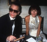 Karl Lagerfeld,Anna Wintour Photo - Adam Scull Stock - Archival Pictures - PHOTOlink - 104014