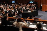 Amy Klobuchar Photo - Washington DC 6302010RESTRICTED NEW YORKNEW JERSEY OUTNO NEW YORK OR NEW JERSEY NEWSPAPERS WITHIN A 75  MILE RADIUSElena Kagan nomination hearingAssociate Justice Supreme Court nominee Solicitor General Elena Kagan testifies at day three of her confirmation hearing before the Senate Judiciary Committee Sen Amy Klobuchar (D-MN) questions Kagan during the hearingDigital photo by Elisa Miller-PHOTOlinknet