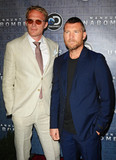 Photo - Photo by Patricia SchleinstarmaxinccomSTAR MAXCopyright 2017ALL RIGHTS RESERVEDTelephoneFax (212) 995-119671917Paul Bettany and Sam Worthington at the premiere of Discoverys Manhunt Unabomber in New York City(NYC)