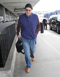 Photos From Jeffrey Tambor is seen at LAX Airport in Los Angeles, CA