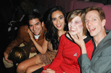Doug Jones,Valerie Perez Photo - A Night of Science Fiction Fantasy  Horror in Conjunction with The Burbank Film Festival-Screening of Star Trek of Gods and Men