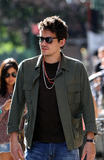 John Mayer Photo - September 16 2012 New York CityMasician John Mayer and TV personality Andy Cohen walk together in the Village on September 16 2012 in New York City