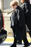 Philip Seymour Hoffman Photo - February 7 2014 New York CityMarilyn OConnor attending Philip Seymour Hoffmans funeral at St Ignatius Loyola Church in Manhattan on February 7 2014 in New York City
