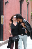 Barbara Hershey,Naveen Andrews Photo - NY CANDIDS
