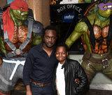 Femi Oyeniran Photos - London UK Femi Oyeniran and son  at A VIP Screening of Teenage Mutant Ninja Turtles - Out Of The Shadows held at Vue Westend Leicester Square London on Sunday 29 May 2016 Ref LMK392-60613-300516Vivienne VincentLandmark Media WWWLMKMEDIACOM