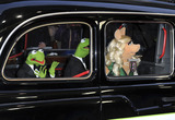 Miss Piggy Photo - London UK Constantine Kermit The Frog and Miss Piggy at the VIP screening of The Muppets Most Wanted at The Curzon Mayfair in London on March 24 2014Ref LMK386-47971-250312Gary MitchellLandmark MediaWWWLMKMEDIACOM