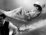 Brigitte Bardot Photo - Brigitte Bardot in the Hammock 1960 2317 Supplied by Ipol Archive I1188ipolGlobe Photos Inc Brigittebardotretro