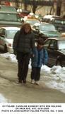 Caroline Kennedy Photo - Caroline Kennedy with Son Walking on Park Ave NYC 2100 Photo by John Barret  Globe Photos Inc