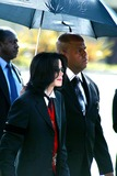Johnnie Cochran,Michael Jackson,Jacksons Photo - Funeral of Johnnie L Cochran Jr