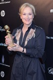 Meryl Streep,Meryl  Streep Photo - The Weinstein Companys 2012 Golden Globe Awards After Party - Arrivals