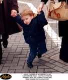 Lady Sarah Chatto Photo - 0499 Lady Sarah  Daniel Chatto Leaving For Aberdeen with Son Samuel (2 Years Old) From London Heathrow Airport