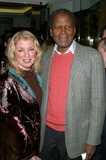 Jackie Collins,Sidney Poitier Photo - Lunch Party For Jackie Collins New Novel