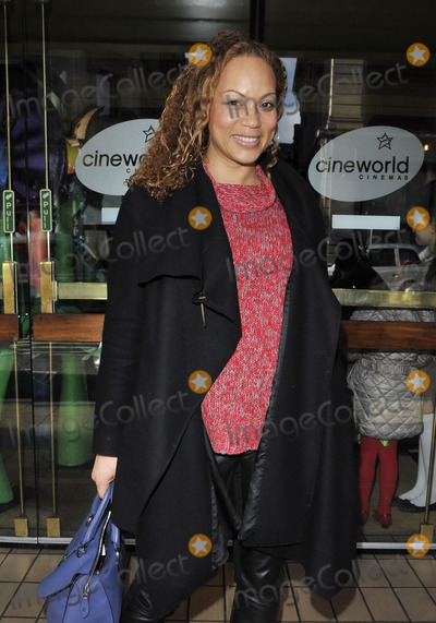 Angela Griffin Photo - LONDON ENGLAND - FEBRUARY 02 Angela Griffin attends the Tinkerbell  the Pirate Fairy VIP screening Cineworld Haymarket cinema Haymarket on Sunday February 02 2014 in London England UKCAPCANCan NguyenCapital Picturesface to face- Germany Austria Switzerland and USA rights only -