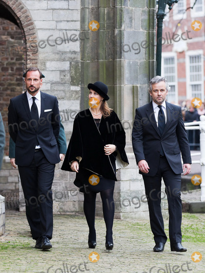 Ari Behn Photo - Haakon and Martha Louise and Ari Behn attending memorial service for Prince Friso in the Oude Kerk (Old Church) in Delft 02112013Credit NieboerPPEface to face- No Rights for Netherlands -