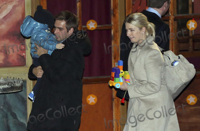 Alfons Schuhbeck Photo - Philipp Lahm mit Frau Claudia und Sohn Julian attending the FC Bayern Munich WeihnachtsfeierChristmas Party at the Theatro of Alfons_Schuhbeck in Munich 08122013Credit Nickelsface to face