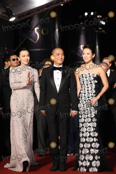 Tony Leung Photo - Carina LauTony Leung and Zhang Ziyi(L-R) arrive at the redcarpet of 50th Golden Horse Awards in TaipeiChina on Saturday November 232013 Credit Topphotoface to face- No rights for China and Taiwan -