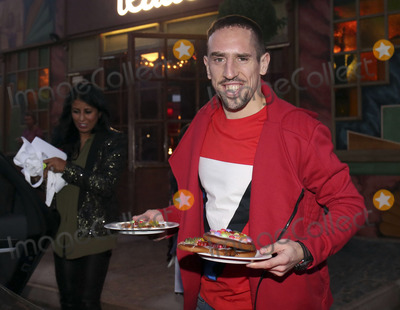 Alfons Schuhbeck Photo - Franck Ribery mit Frau attending the FC Bayern Munich WeihnachtsfeierChristmas Party at the Theatro of Alfons_Schuhbeck in Munich 08122013Credit Nickelsface to face