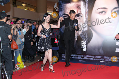 Andy Lau Photo - Actors Andy Lau and Yao Chen attend premiere of film Firestorm at AMC Pacific Place in Hong KongChina on Sunday December 152013Credit Topphotoface to face- No rights for China and Taiwan -