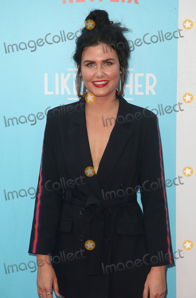 Amber Hodgkiss Photo - 31 July 2018 - Hollywood California - Amber Hodgkiss Like Father Los Angeles Premiere held at the ArcLight Hollywood Photo Credit F SadouAdMedia
