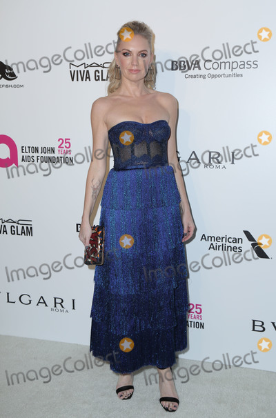 Barret Swatek Photo - 04 March 2018 - West Hollywood California - Barret Swatek 26th Annual Elton John Academy Awards Viewing Party held at West Hollywood Park Photo Credit PMAAdMedia