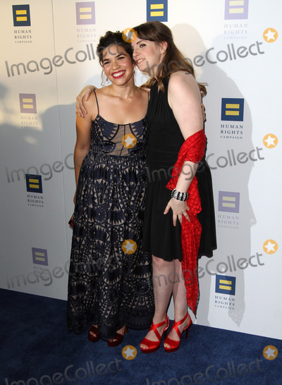 Lena Dunham Photo - 18 March 2017 - Los Angeles California - America Ferrera and Lena Dunham The Human Rights Campaign 2017 Los Angeles Gala Dinner held at the JW Marriott LA Live Photo Credit AdMedia