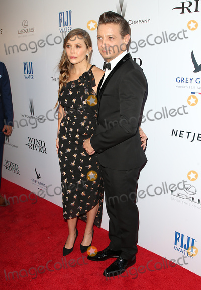 Jeremy Renner Photo - 26 July 2017 - Los Angeles California - Elizabeth Olsen Jeremy Renner Wind River Los Angeles Premiere held at The Theater at Ace Hotel Photo Credit F SadouAdMedia