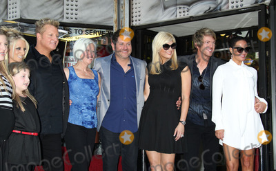 Allison DeMarcus Photo - 17 September 2012 - Hollywood California - Gary LeVox Tara LeVox Jay DeMarcus Allison DeMarcus Joe Don Rooney Tiffany Fallon Rascal Flatts Rascal Flatts Honored with a star on the Hollywood Walk of Fame in the Category of recording held on Hollywood Boulevard Photo Credit Russ ElliotAdMedia