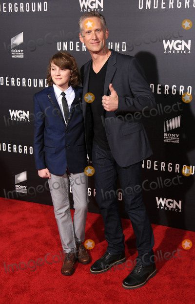 Toby Nichols Photo - 02 March 2016 - Los Angeles California - Reed Diamond Toby Nichols Underground Los Angeles Premiere held at The Theatre At The Ace Hotel Photo Credit Winston BurrisAdMedia