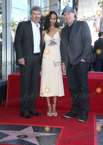 Alan Horne Photo - 03 May 2018 - Hollywood California - Alan Horn Zoe Saldana Kevin Feige Zoe Saldana Honored With A Star On The Hollywood Walk Of Fame Photo Credit F SadouAdMedia