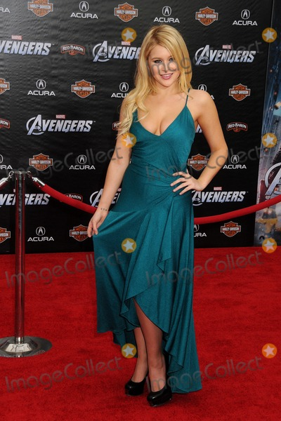 Renee Olstead Photo - 11 April 2012 - Hollywood California - Renee Olstead Marvels The Avengers World Premiere held at the El Capitan Theatre Photo Credit Byron PurvisAdMedia