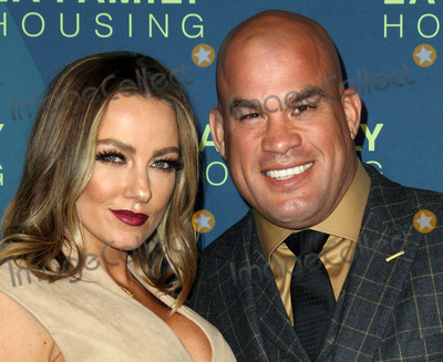 Amber Nicole Photo - 5 April 2018 - Los Angeles California - Tito Ortiz with Amber Nicole Miller Dwayne Johnson Honored at the LA Family Housing Awards 2018 held at The Lot Photo Credit AdMedia