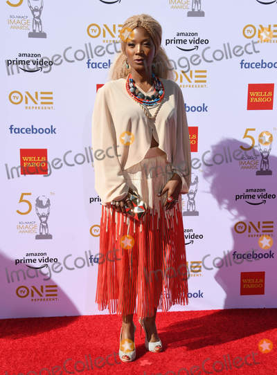 Yolanda Ross Photo - 30 March 2019 - Hollywood California - Yolanda Ross 2019 NAACP Image Awards held at Dolby Theater Photo Credit Birdie ThompsonAdMedia
