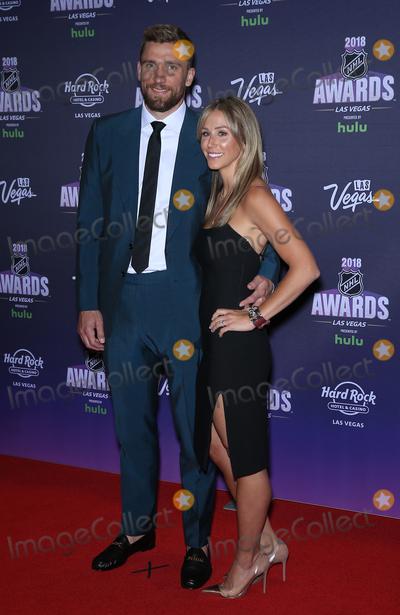 Blake Wheeler Photo - 20 June 2018 - Las Vegas Nevada - Blake Wheeler 2018 NHL Awards Red Carpet the Hard Rock Hotel and Casino Photo Credit MJTAdMedia
