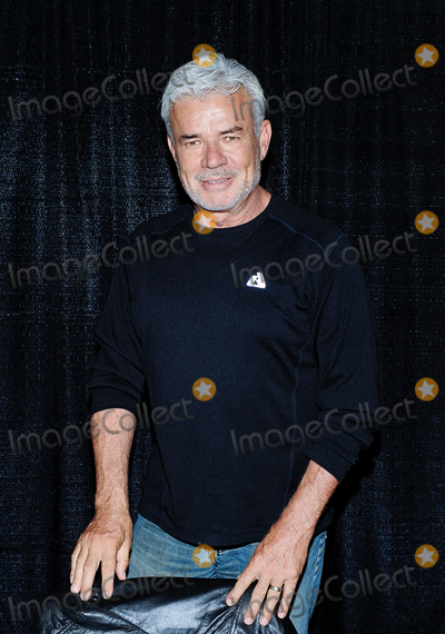 Eric Bischoff Photo - 01 October 2016 - Hamilton Ontario Canada  Retired WCW and WWE wrestler Eric Bischoff at Hamilton Comic Con at the Canadian Warplane Heritage Museum Photo Credit Brent PerniacAdMedia