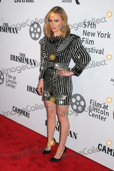 Anna Paquin- Photo - 27 September 2019 - New York New York - Anna Paquin The Irishman 57th New York Film Festival held at Alice Tully Hall Lincoln Center Photo Credit AdMedia