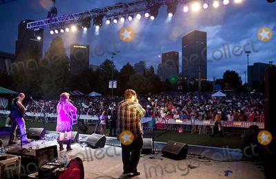 Crystal Bowersox Photo - Crystal Bowersox Headlines Centennial Park 4th of July Celebration in Atlanta GA