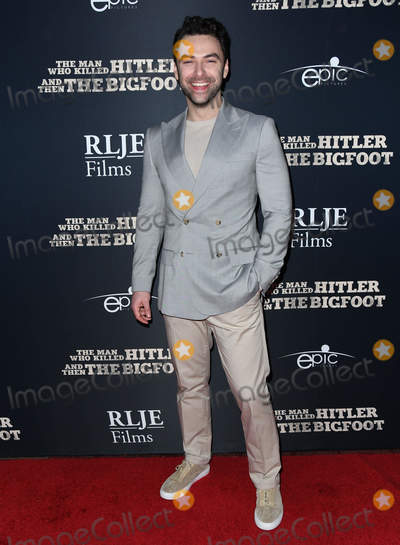 Aidan Turner Photo - 04 February 2019 - Hollywood California - Aidan Turner The Man Who Killed Hitler and Then the Bigfoot Los Angeles Premiere held at Arclight Hollywood Photo Credit Birdie ThompsonAdMedia