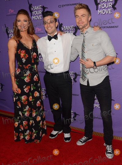 Amy Purdy Photo - 31 March 2014 - Los Angeles California - Amy Purdy Mark Ballas Derek Hough Cast arrivals for the LA screening of Make Your Move held at Pacifics The Grove Stadium 14 in Los Angeles Photo Credit Birdie ThompsonAdMedia