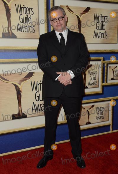 Adam Mckay Photo - 13 February  - Los Angeles Ca - Adam McKay Arrivals for the 2016 Writers Guild Awards held at Hyatt Regency Century Plaza Photo Credit Birdie ThompsonAdMedia