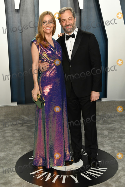 Man Photo - 09 February 2020 - Los Angeles California -  Leslie Mann Judd Apatow 2020 Vanity Fair Oscar Party following the 92nd Academy Awards held at the Wallis Annenberg Center for the Performing Arts Photo Credit Birdie ThompsonAdMedia