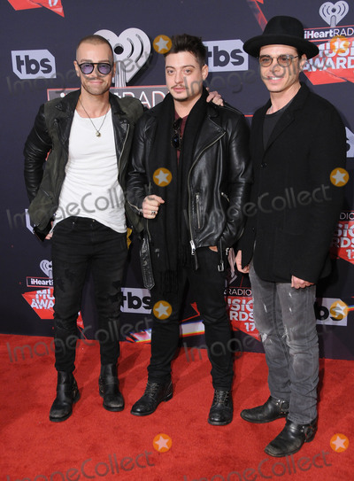 Matthew Lawrence Photo - 05 March 2017 - Inglewood California - Joey Lawrence Anrdew Lawrence Matthew Lawrence  2017 iHeartRadio Music Awards held at The Forum in Inglewood Photo Credit Birdie ThompsonAdMedia