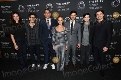 Allison Miller Photo - 25 February 2020 - West Hollywood California - (L-R) Betsy Brandt Gabriel Mann DJ Nash Allison Miller David Giuntoli Chandler Riggs and Jason Ritter The Paley Center presents A Million Little Things Screening and Conversation at The Directors Guild of America Photo Credit Billy BennightAdMedia