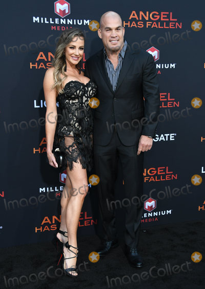Tito Ortiz Photo - 20 August 2019 - Westwood California - Tito Ortiz Amber Nichole Miller Angel Has Fallen Los Angeles Premiere held at Regency Village Theater Photo Credit Birdie ThompsonAdMedia