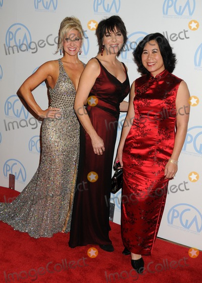 Christina Lee Photo - 21 January 2012 - Beverly Hills California - Rachel Klein Dana Kuznetezkoff Christina Lee Storm 23rd Annual Producers Guild Awards held at the Beverly Hilton Hotel Photo Credit Byron PurvisAdMedia